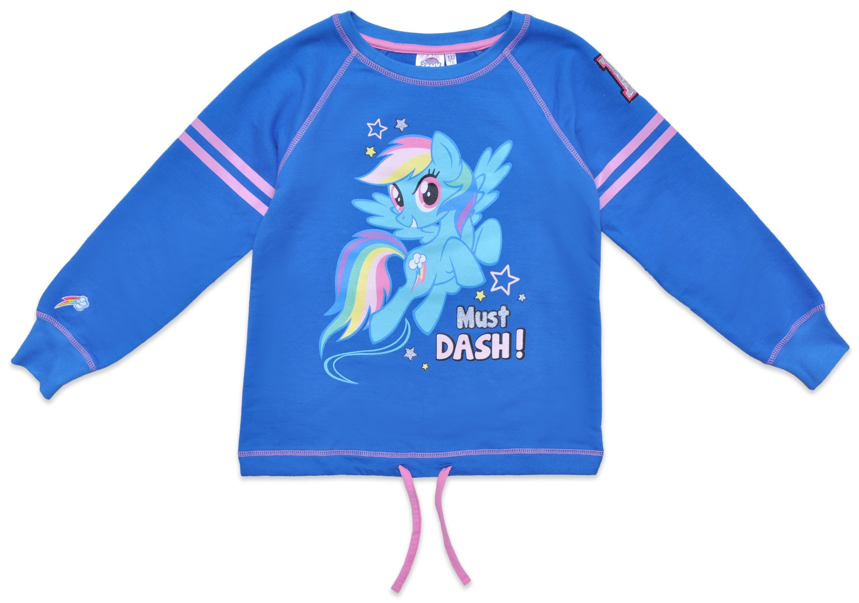 Tricou Cu Maneca Lunga My Little Pony, Must Dash, Blue
