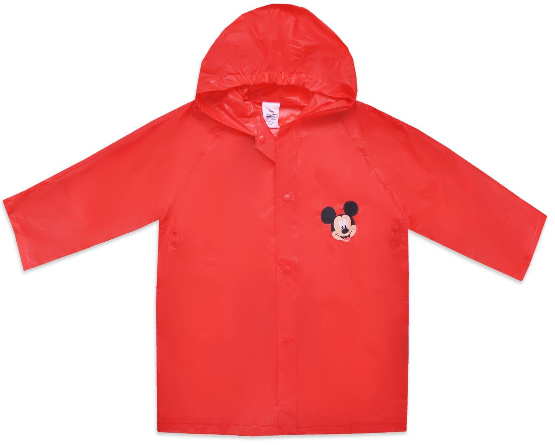 Pelerina de ploaie cu imprimeu Mickey Mouse, Rosu