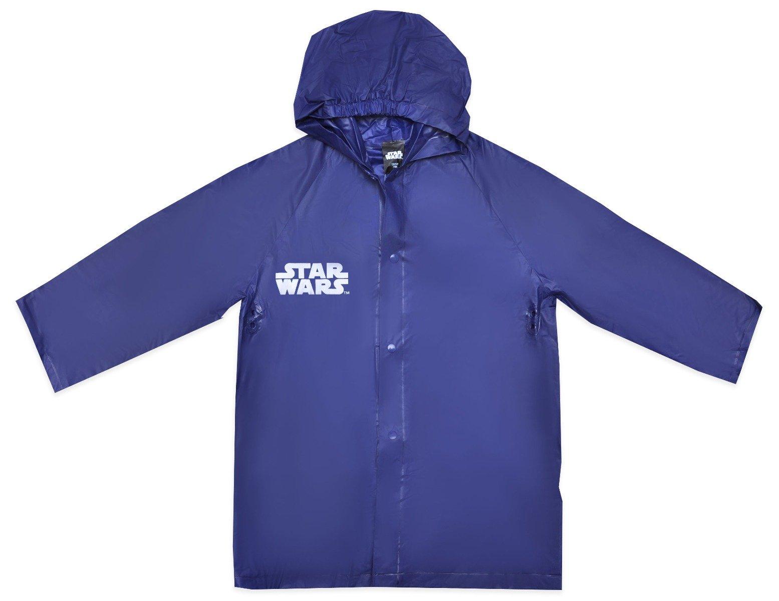 Pelerina de ploaie cu imprimeu Star Wars, Stormtrooper, Albastru