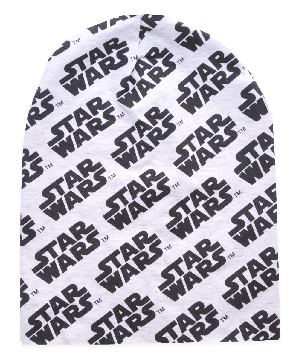 Caciula de baieti cu imprimeu Star Wars, Gri