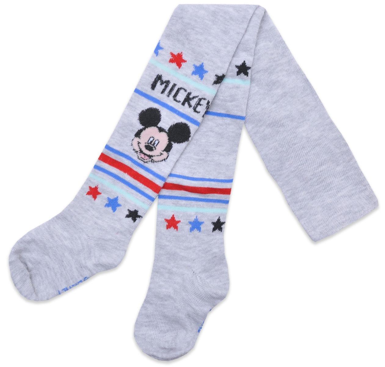 Dres de baieti cu imprimeu Mickey Mouse, Gri imagine