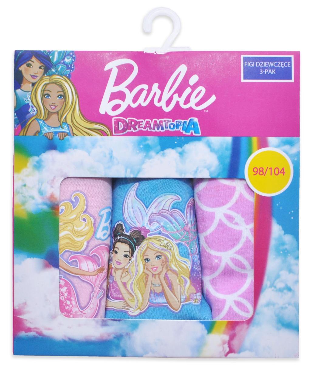 Set chilotei de fete cu imprimeu Barbie imagine