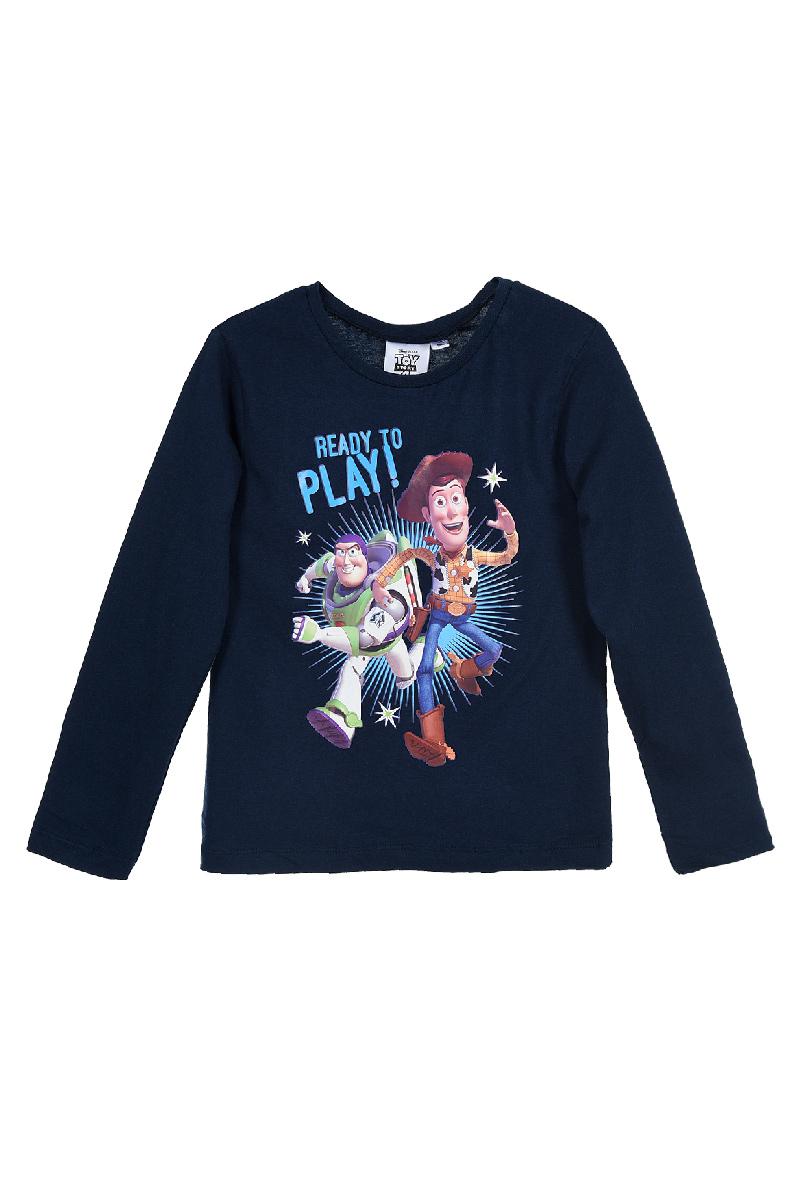 Tricou cu maneca lunga si imprimeu Toy Story, Blue