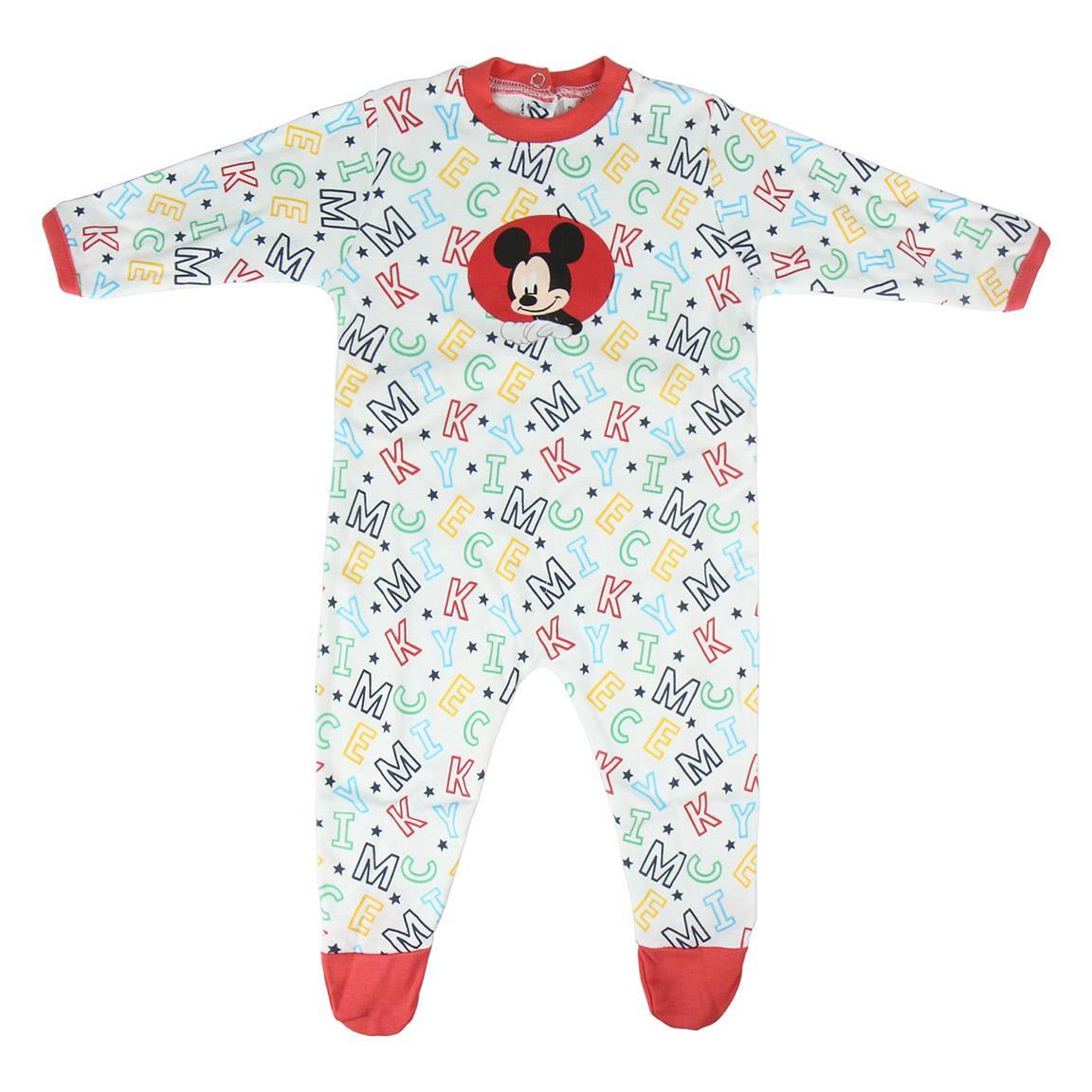 Salopeta cu imprimeu color Mickey Mouse imagine