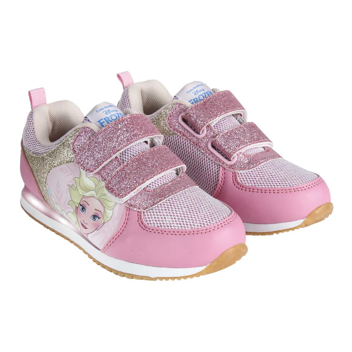 Pantofi Sport Frozen, Alb/roz