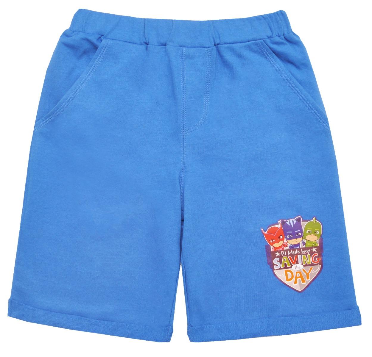 Pantaloni scurti cu imprimeu Pj Masks, Albastru
