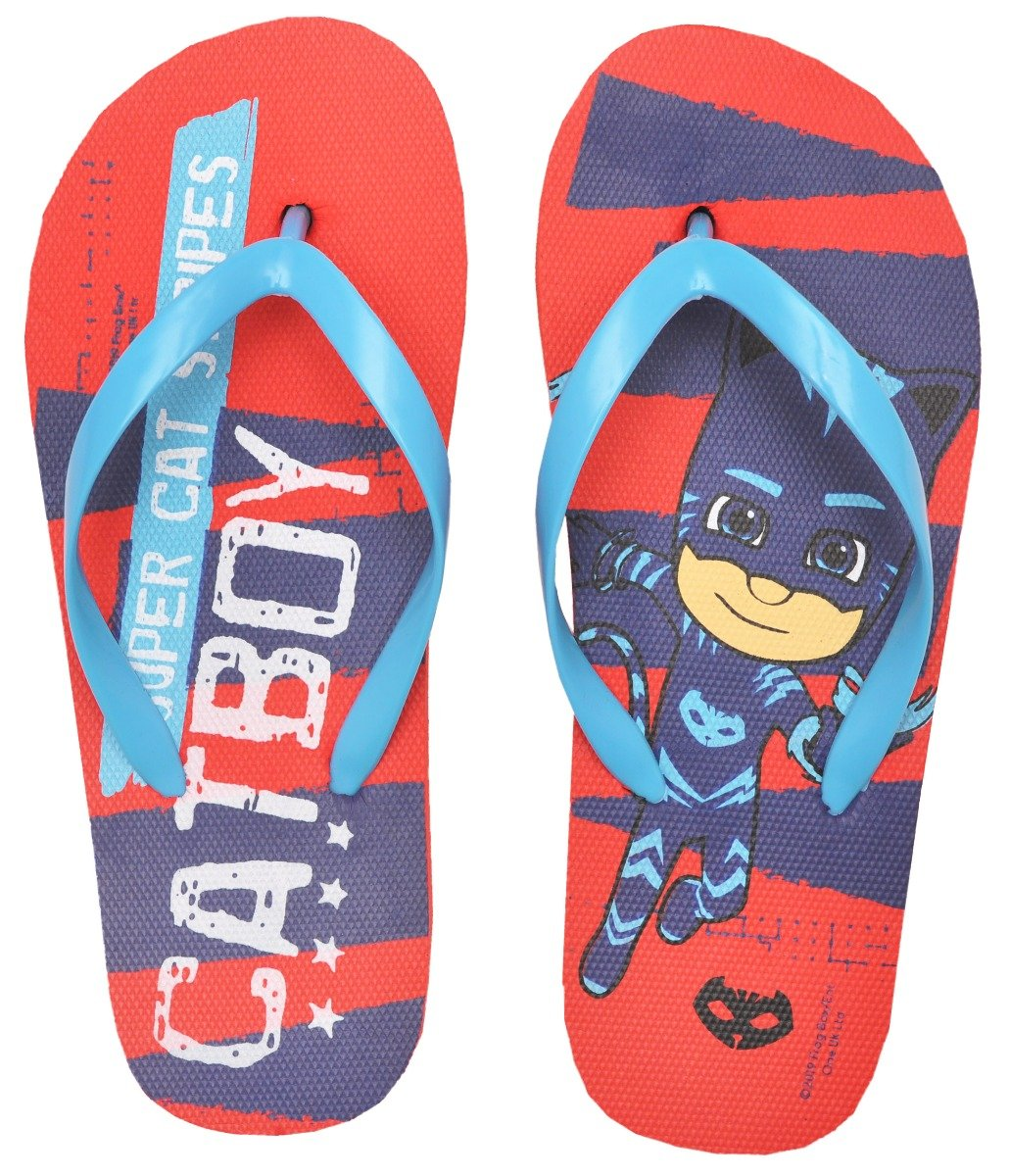 Papuci de plaja cu imprimeu Pj Masks, Blue