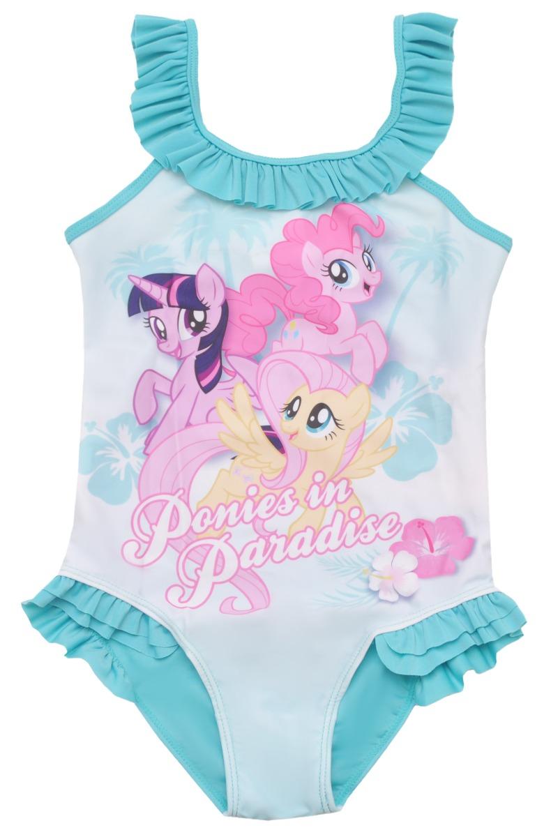 Costum de baie cu imprimeu My Little Pony, Albastru imagine