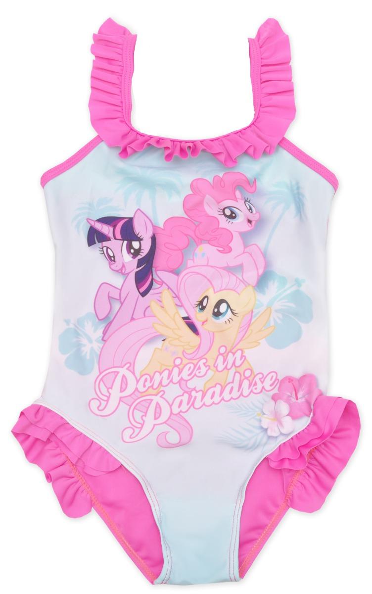 Costum de baie cu imprimeu My Little Pony, Roz imagine