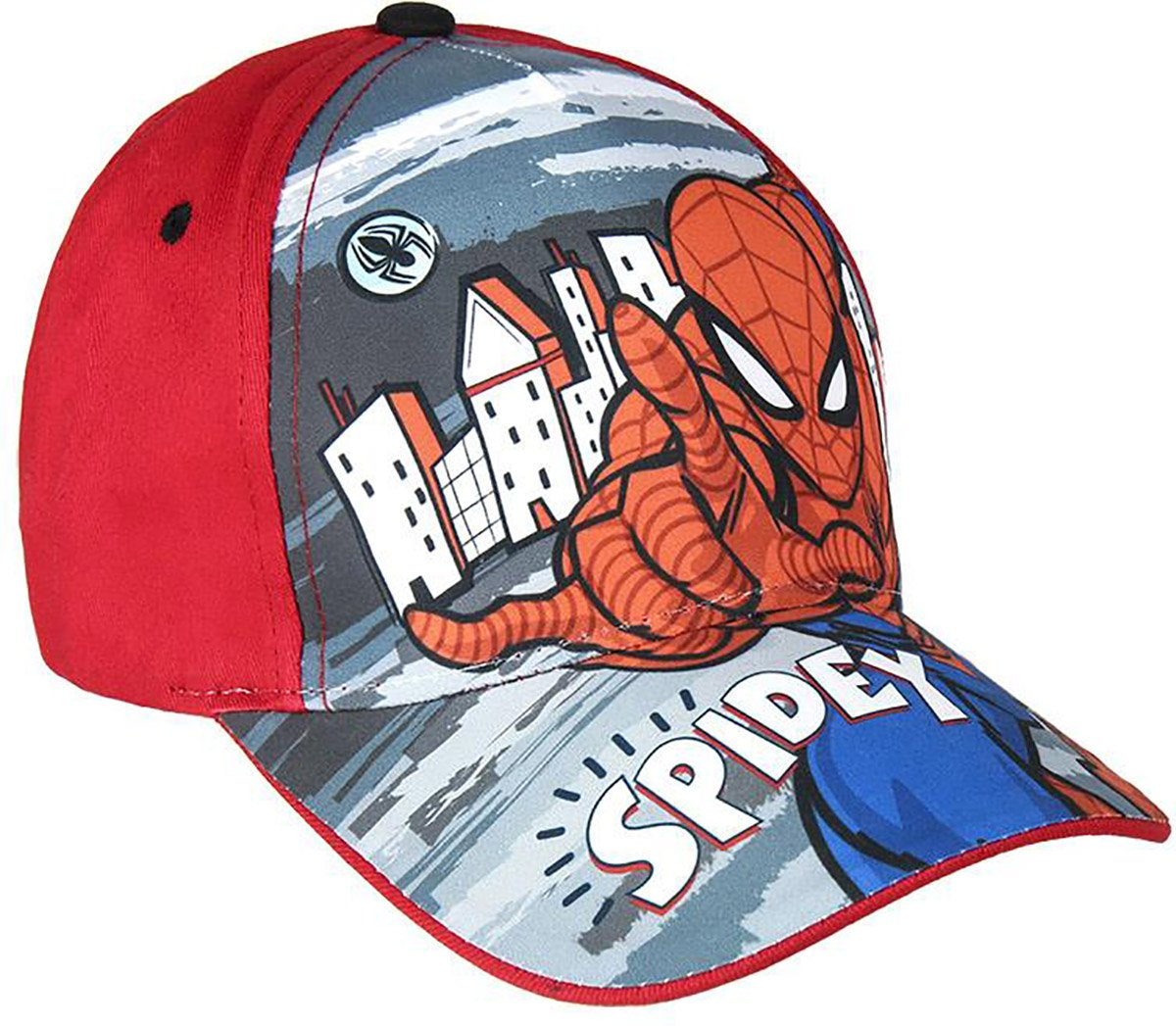 Sapca Spiderman, Rosu