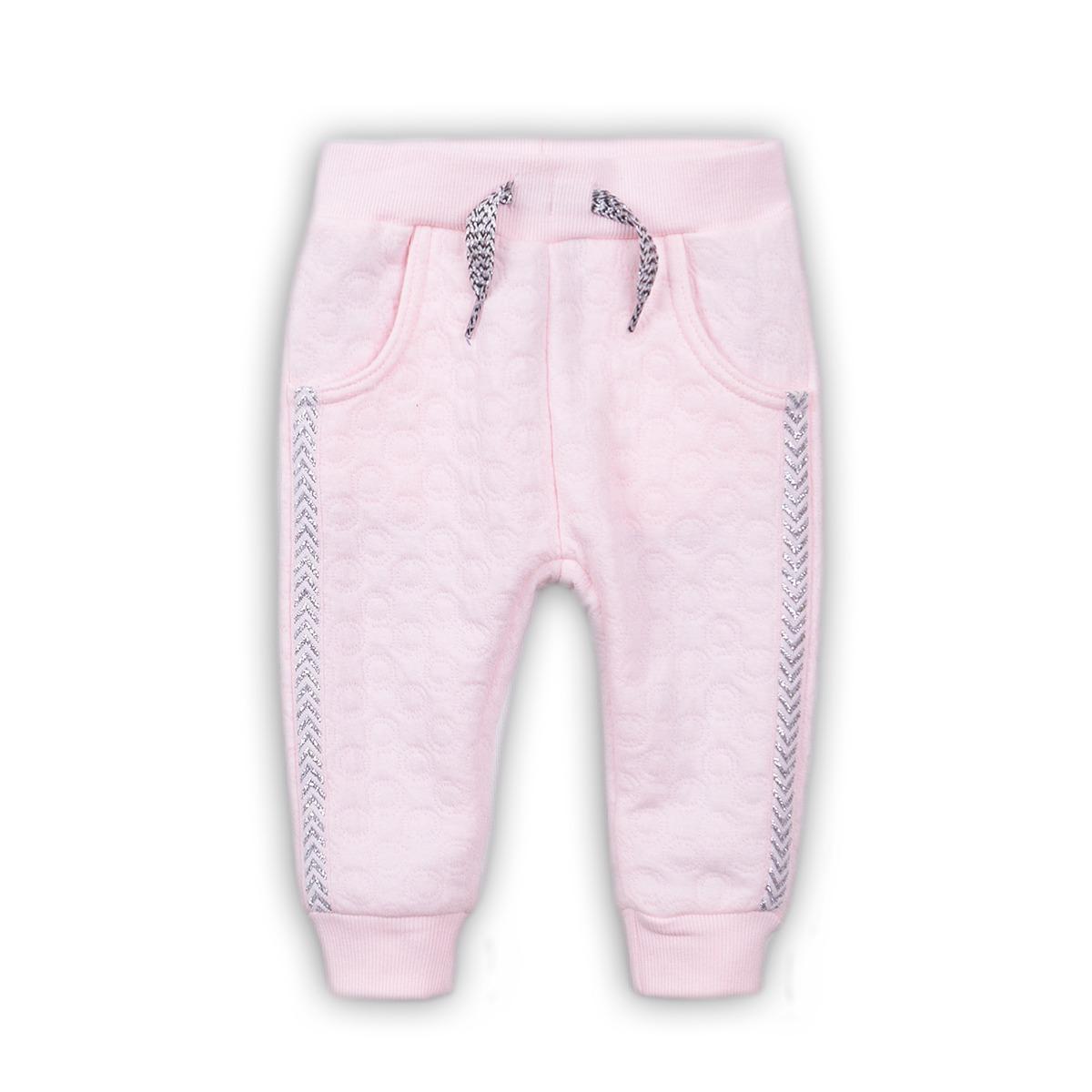Pantaloni sport cu snur Dirkje, Roz