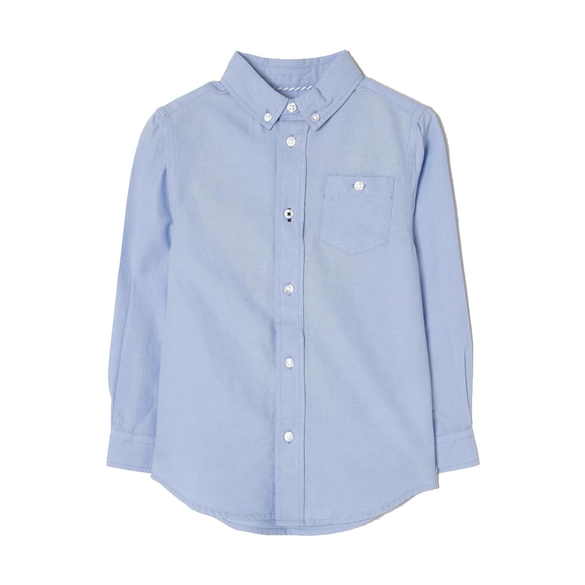 Camasa cu maneci lungi Zippy Oxford, Albastru imagine