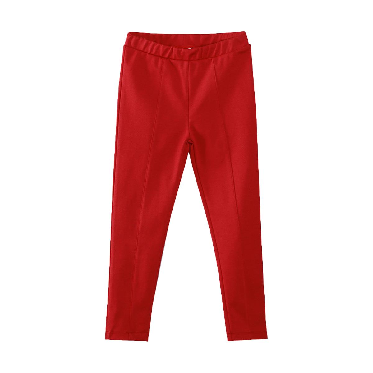 Pantaloni cu talie elastica Zippy, Rosu