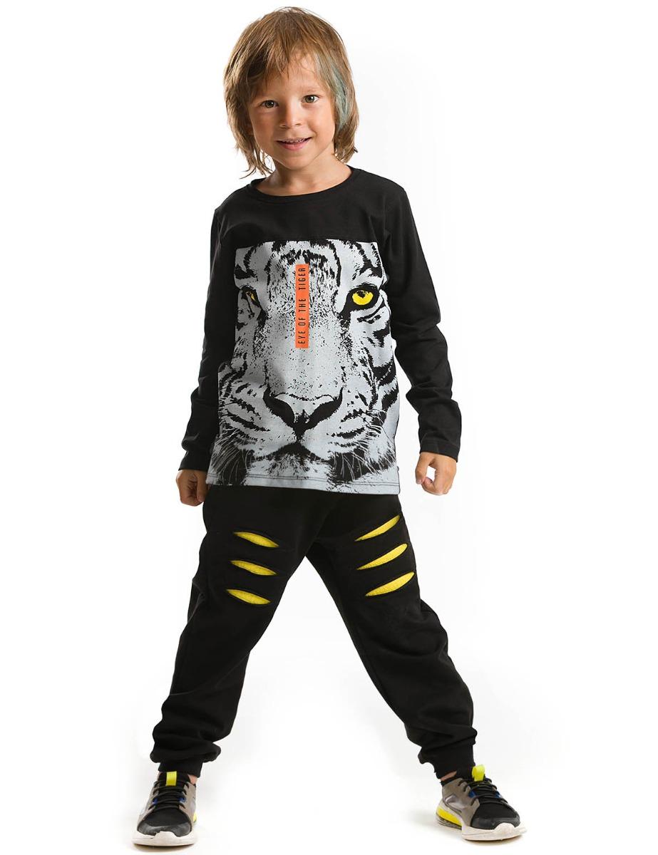 Set bluza cu maneca lunga si pantaloni sport Mushi