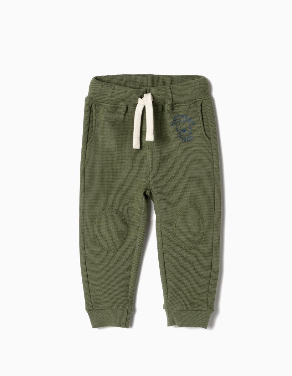 Pantaloni sport cu banda elastica Zippy Hapiness Tiger imagine 2021