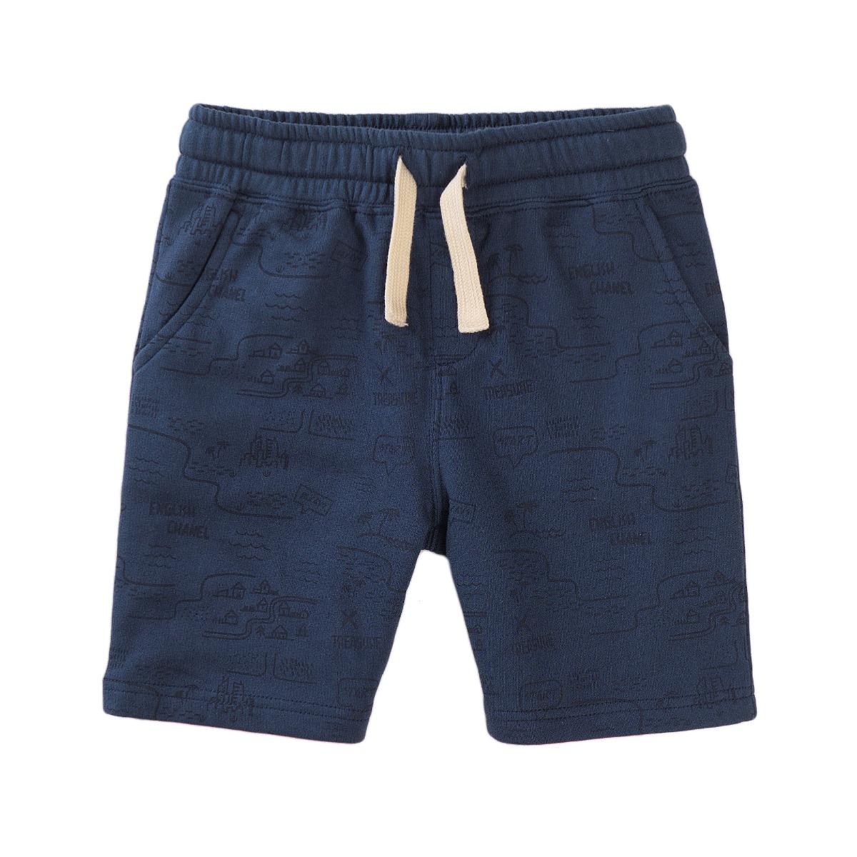 Pantaloni scurti cu banda elastica si snur Minoti Cove
