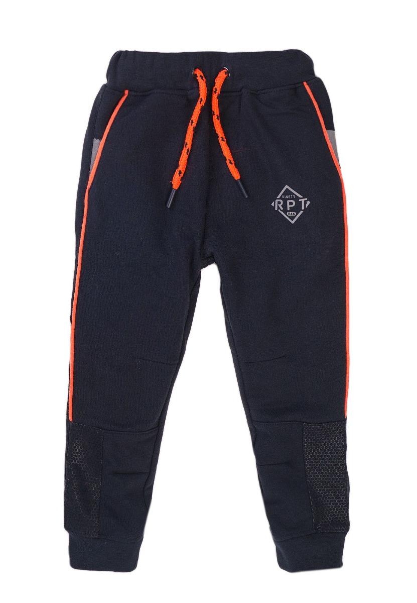 Pantaloni sport cu buzunare si banda elastica Minoti Active