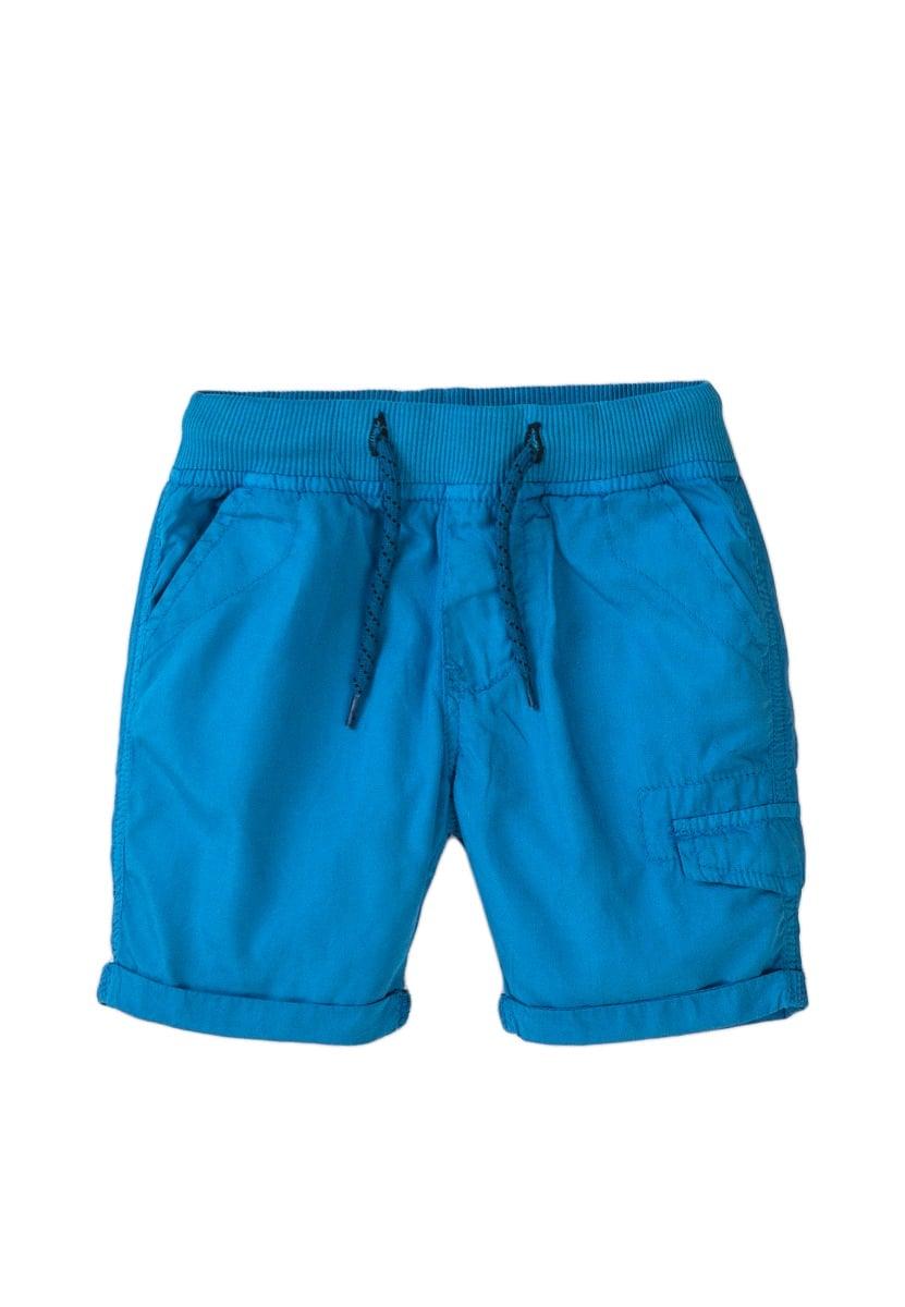 Pantaloni scurti cu banda elastica si snur Minoti 5pshort