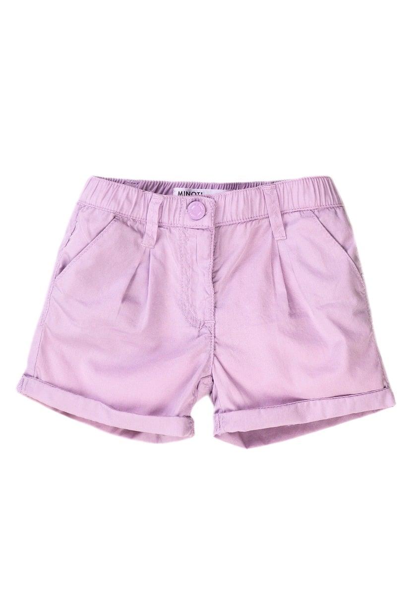 Pantaloni scurti cu banda elastica si buzunare Minoti 6short