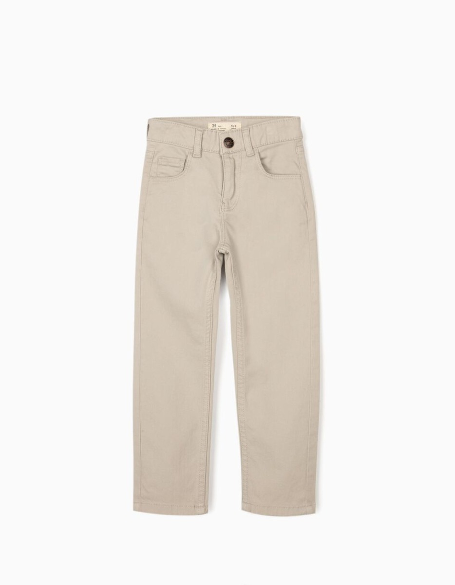 Pantaloni Zippy, Bej imagine