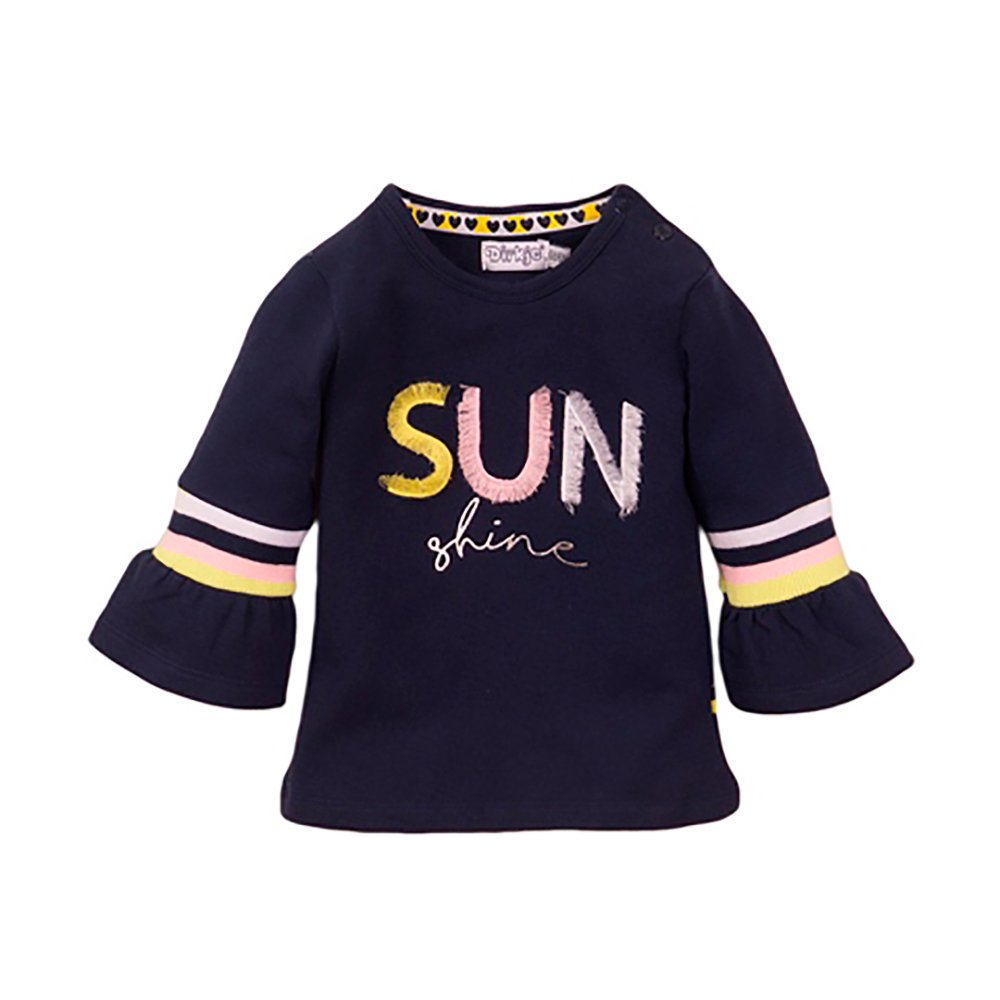 Tricou cu imprimeu frontal Dirkje Sunshine imagine