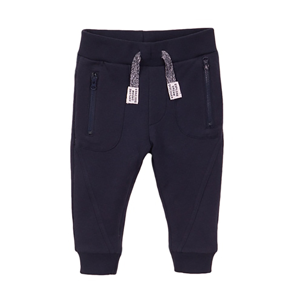 Pantaloni sport cu banda elastica Dirkje