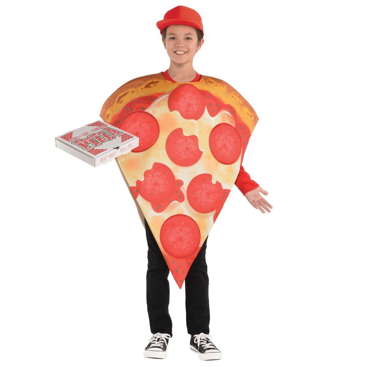 Costum de petrecere, Pizza