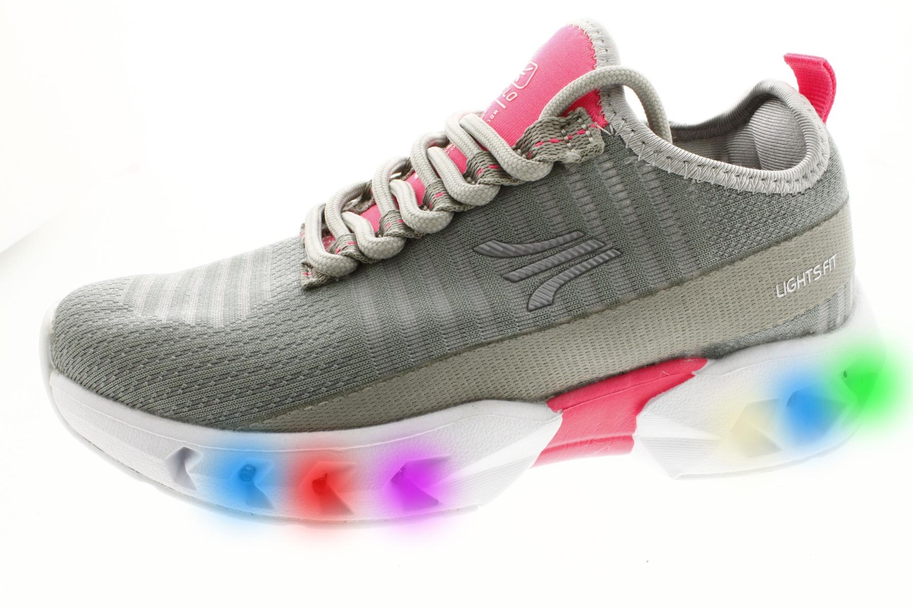 Pantofi sport cu luminite