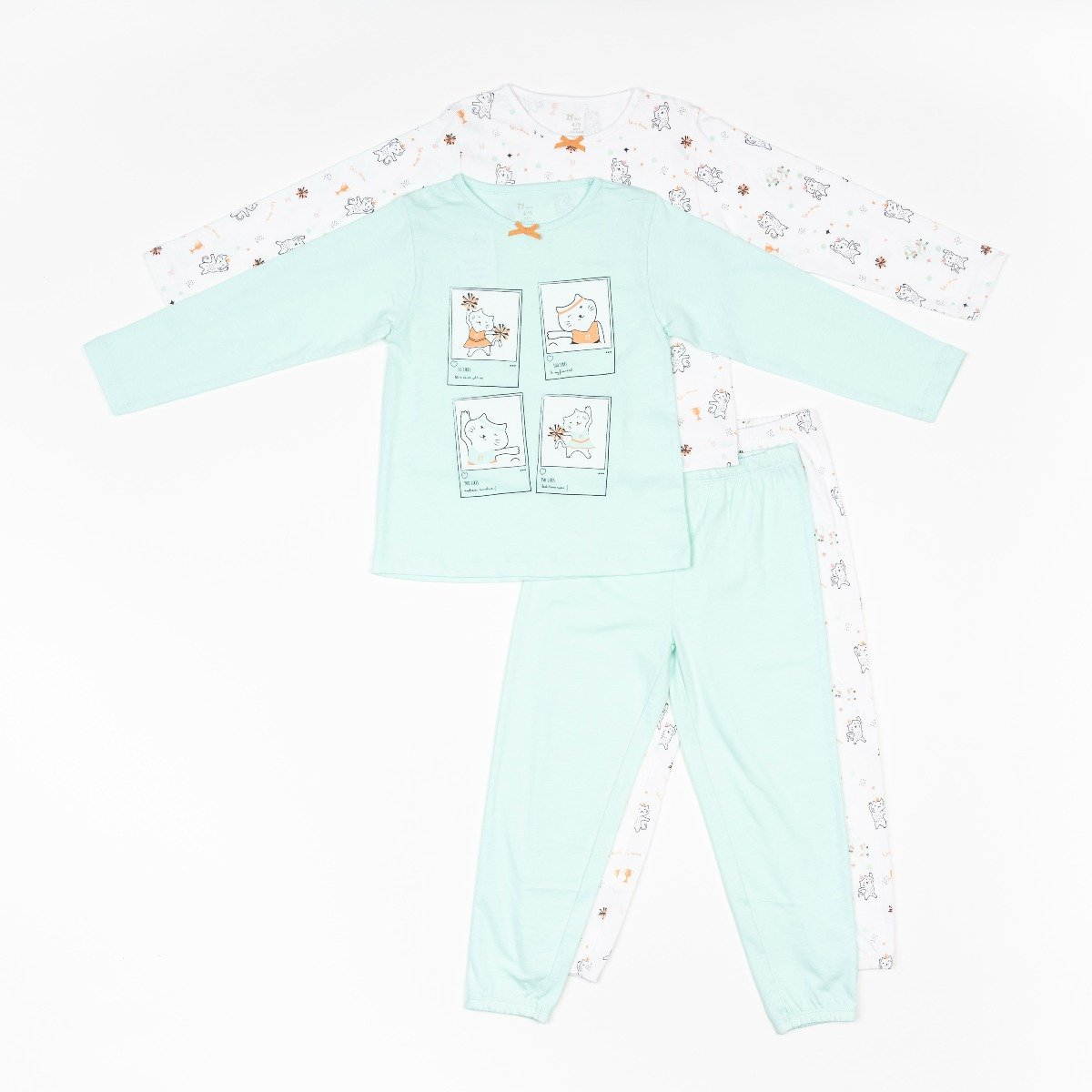 Set pijamale cu maneca lunga Zippy Zy