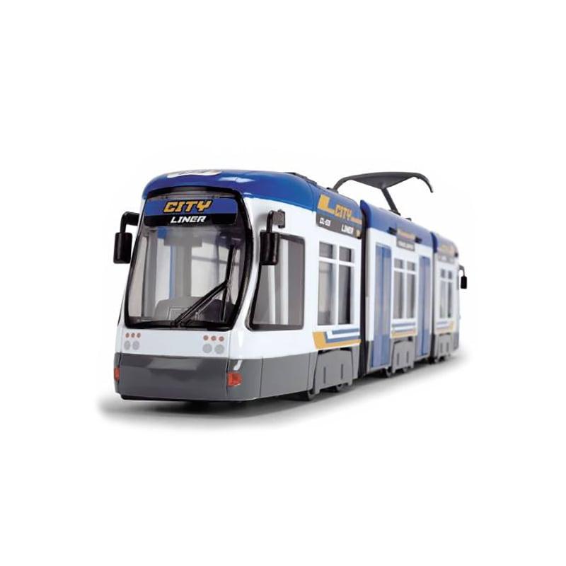 Tramvai de jucarie Dickie, 46 cm, Albastru imagine 2021