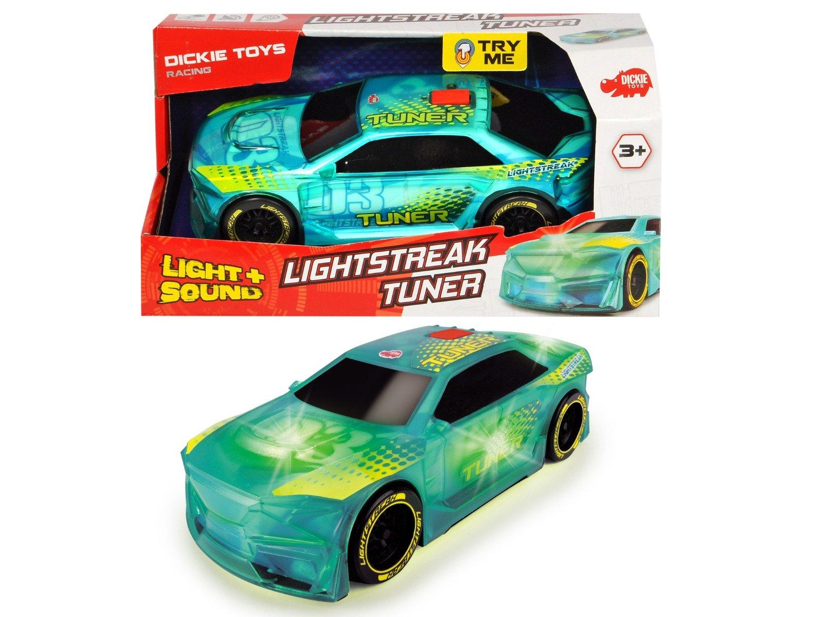 Masina cu sunete si lumini Tuner Dickie