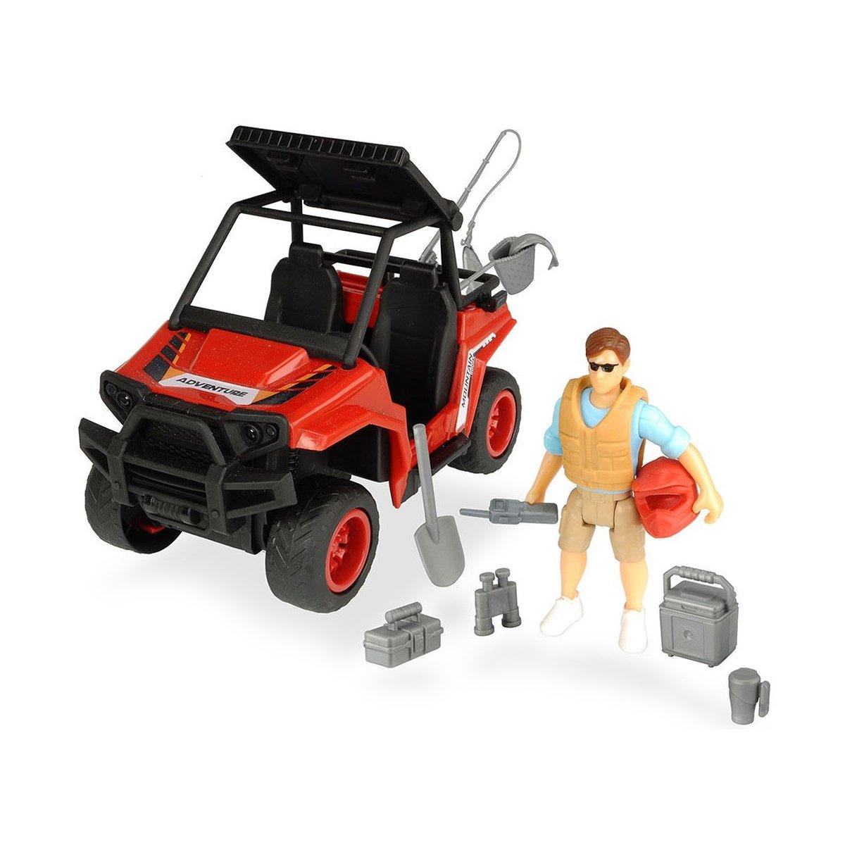 Set de joca cu Masina de teren si Figurina cu accesorii Dickie Toys Playlife