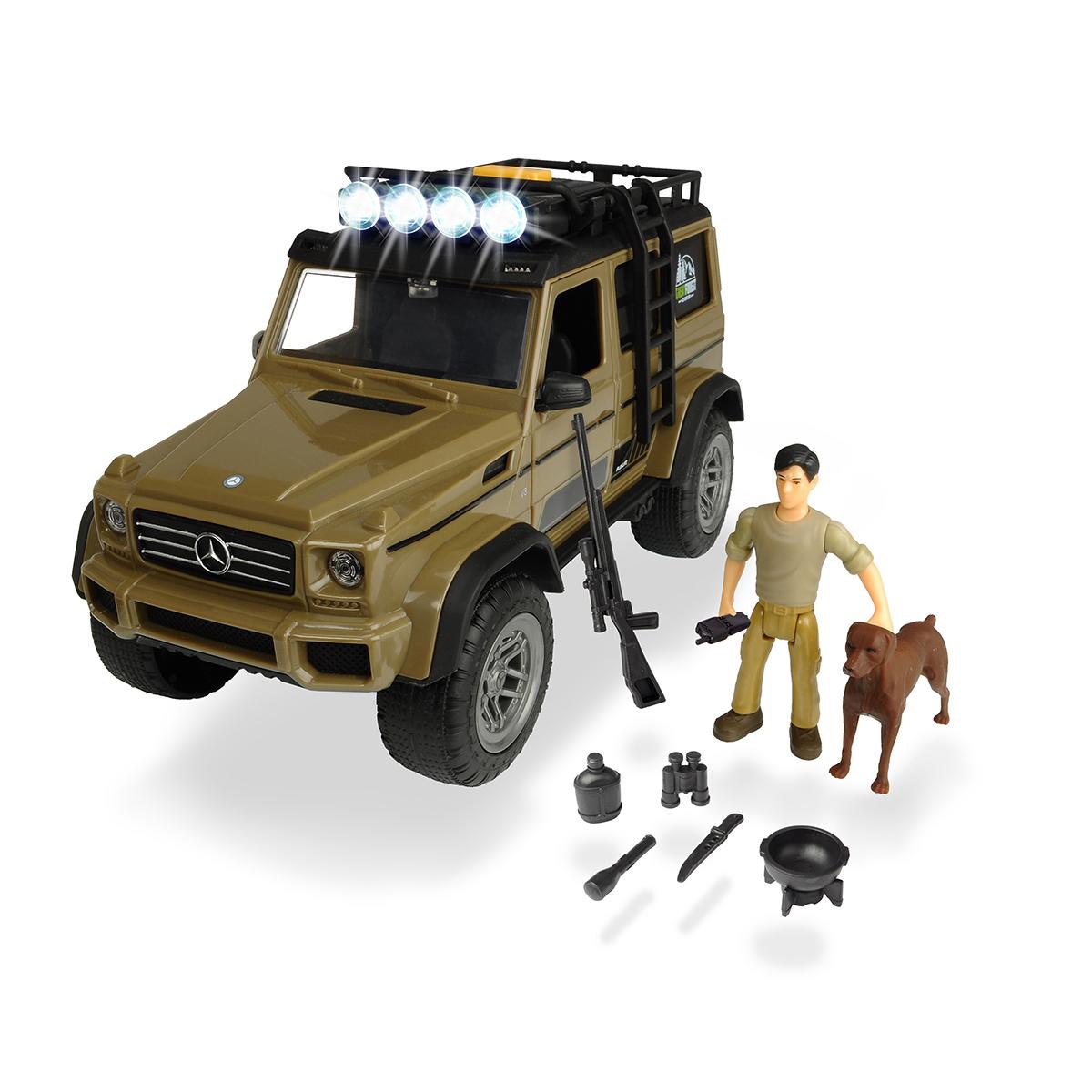 Set Masinuta Mercedes cu figurina Dickie Playlife Ranger
