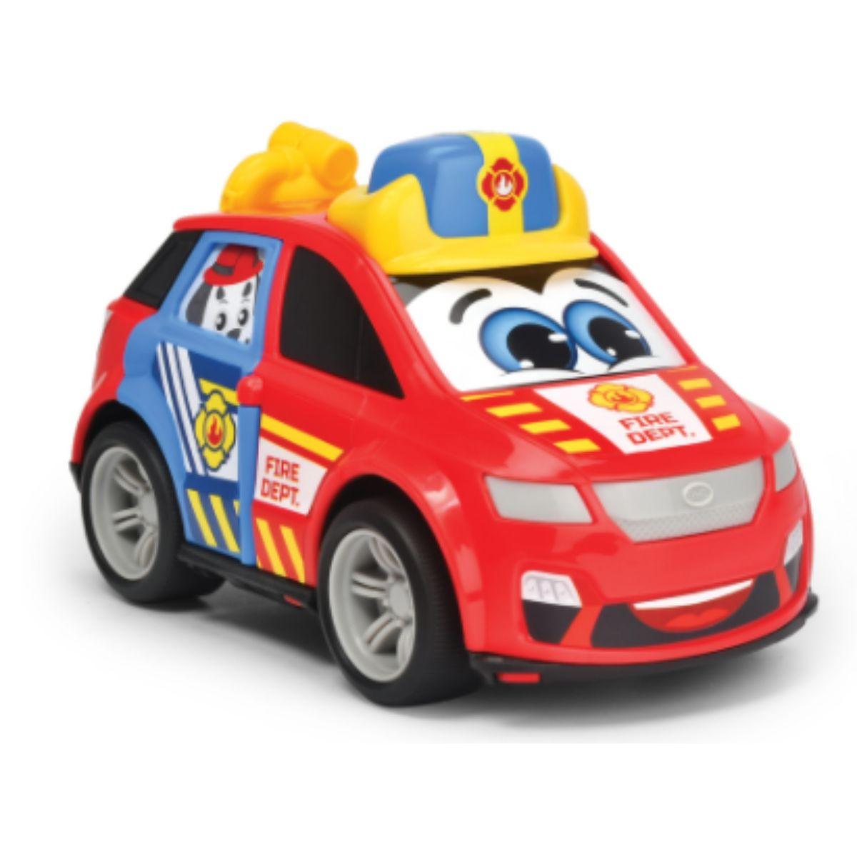Jucarie bebelusi, masinuta de pompieri, Abc, Byd City Car
