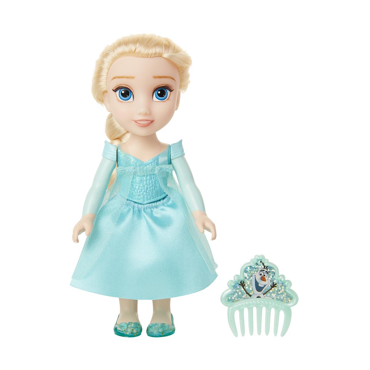 Papusa cu pieptan Disney Frozen 2, Elsa