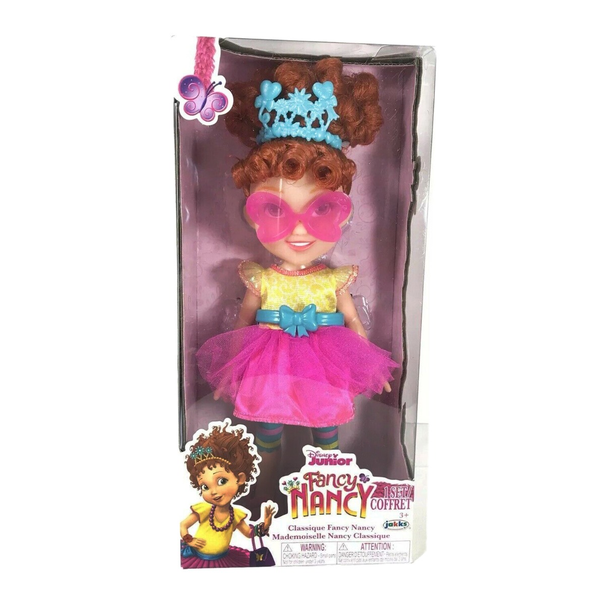 Papusa Fancy Nancy Clancy, Classic Fashion, 25 cm