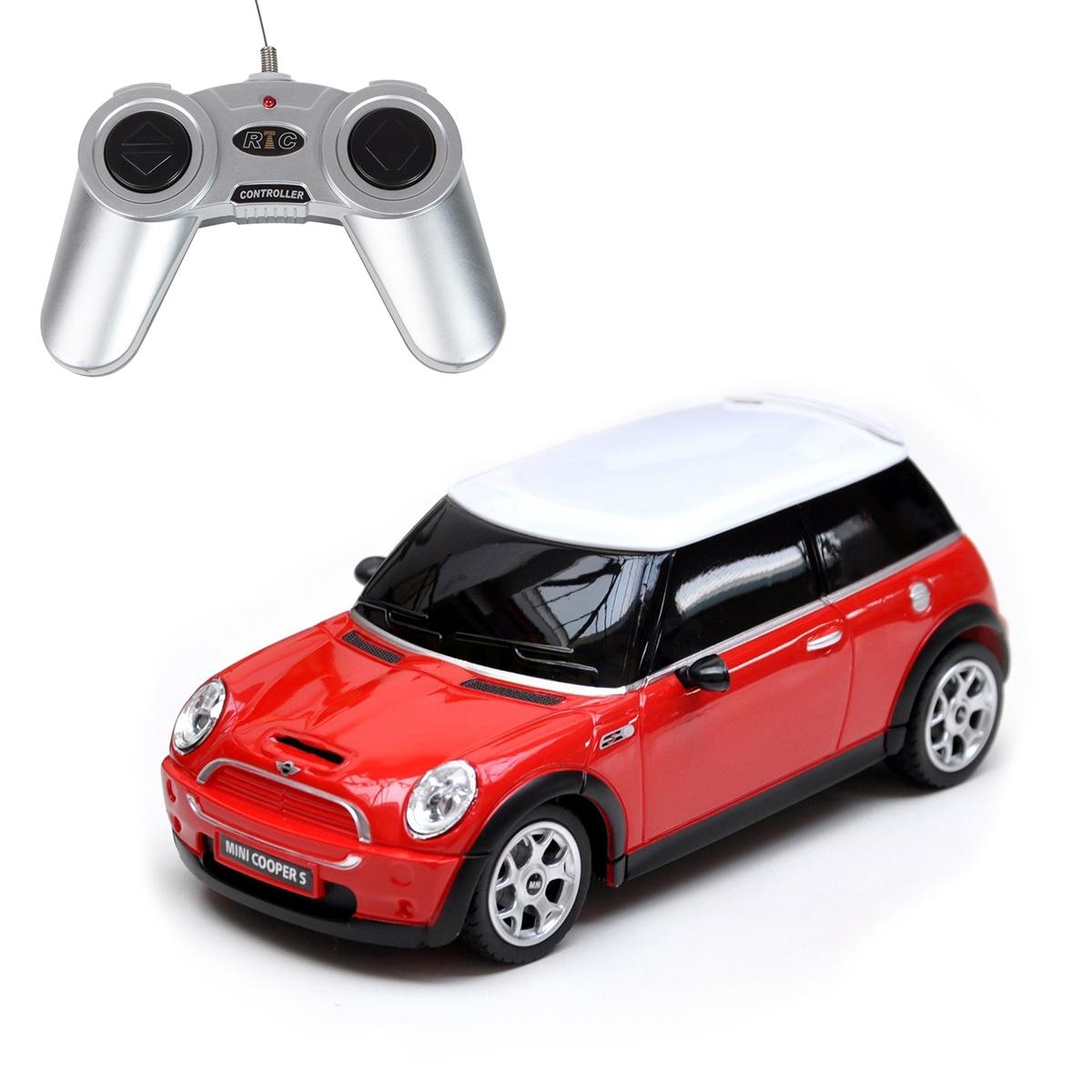 Masina cu telecomanda Rastar Mini Cooper S, 1:18, Rosu