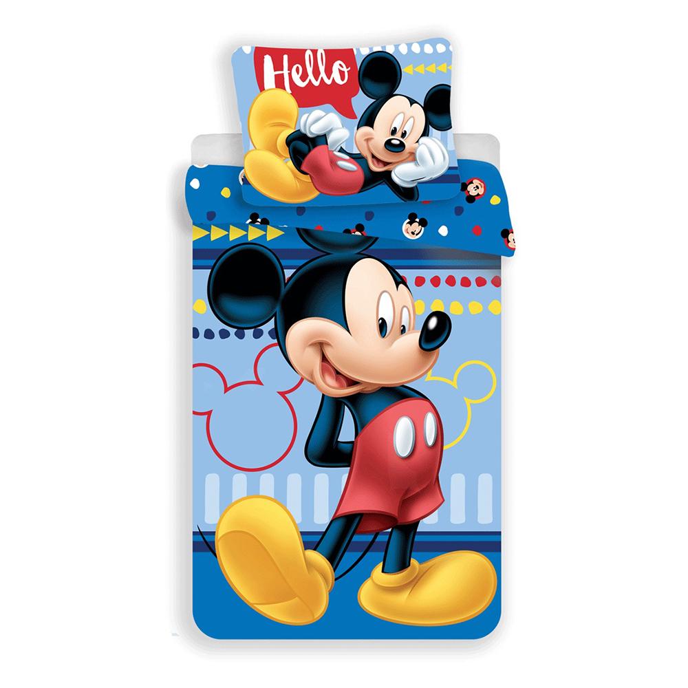 Set lenjerie de pat Mickey Mouse, 140 x 200 cm