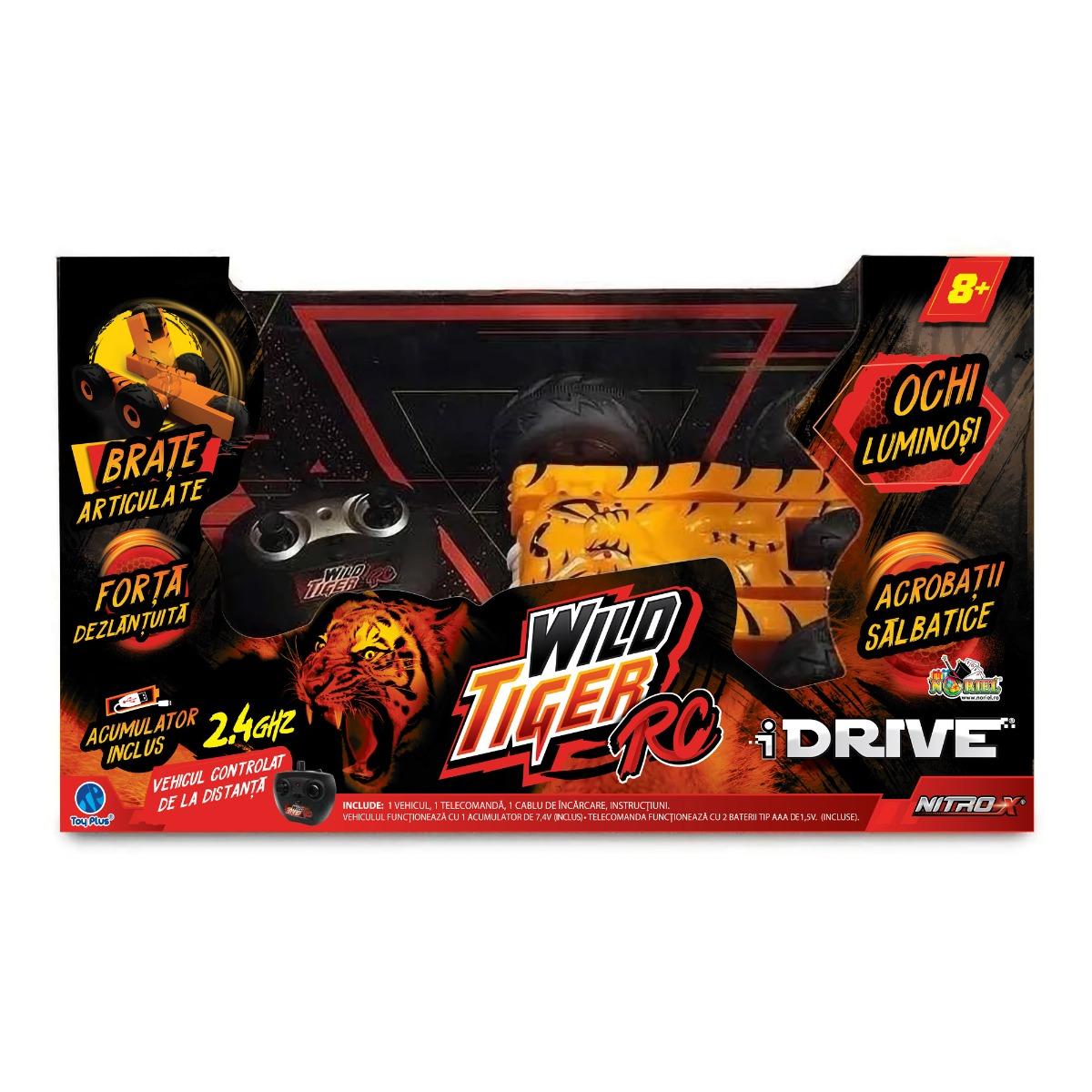 Masinuta cu telecomanda iDrive Wild Tiger