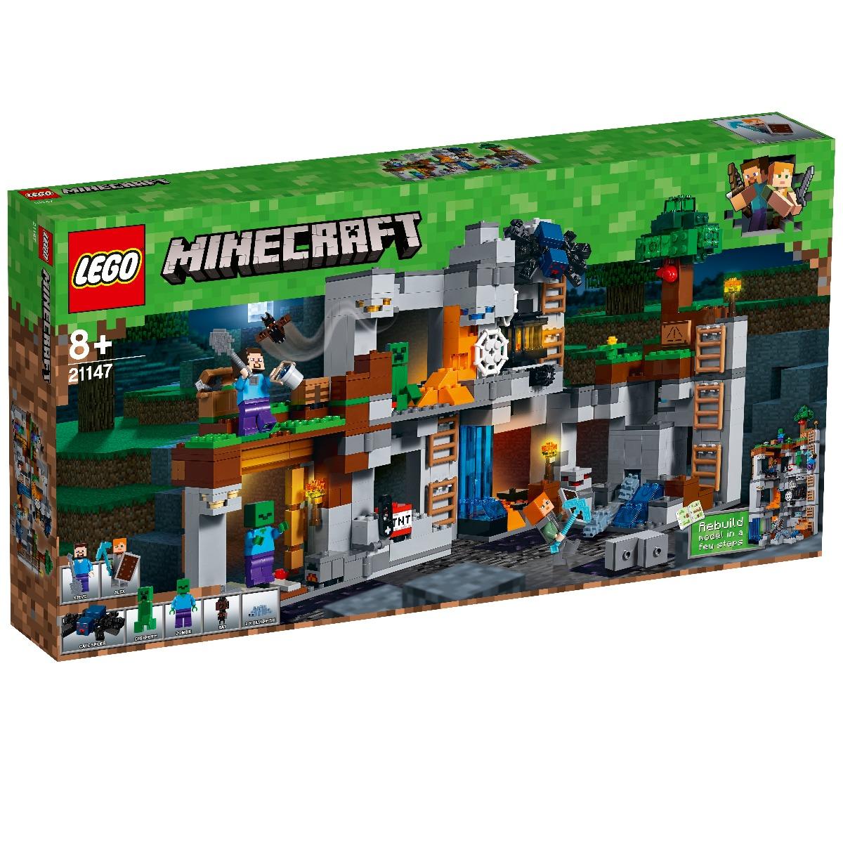 LEGO® Minecraft - Aventurile din Bedrock (21147)