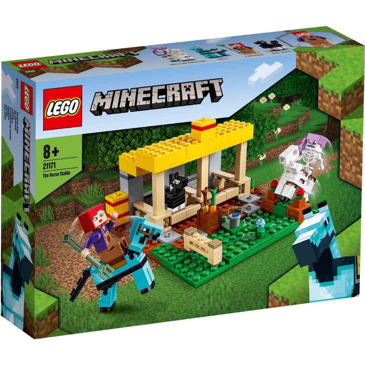 LEGO® Minecraft - Grajdul pentru cai (21171)