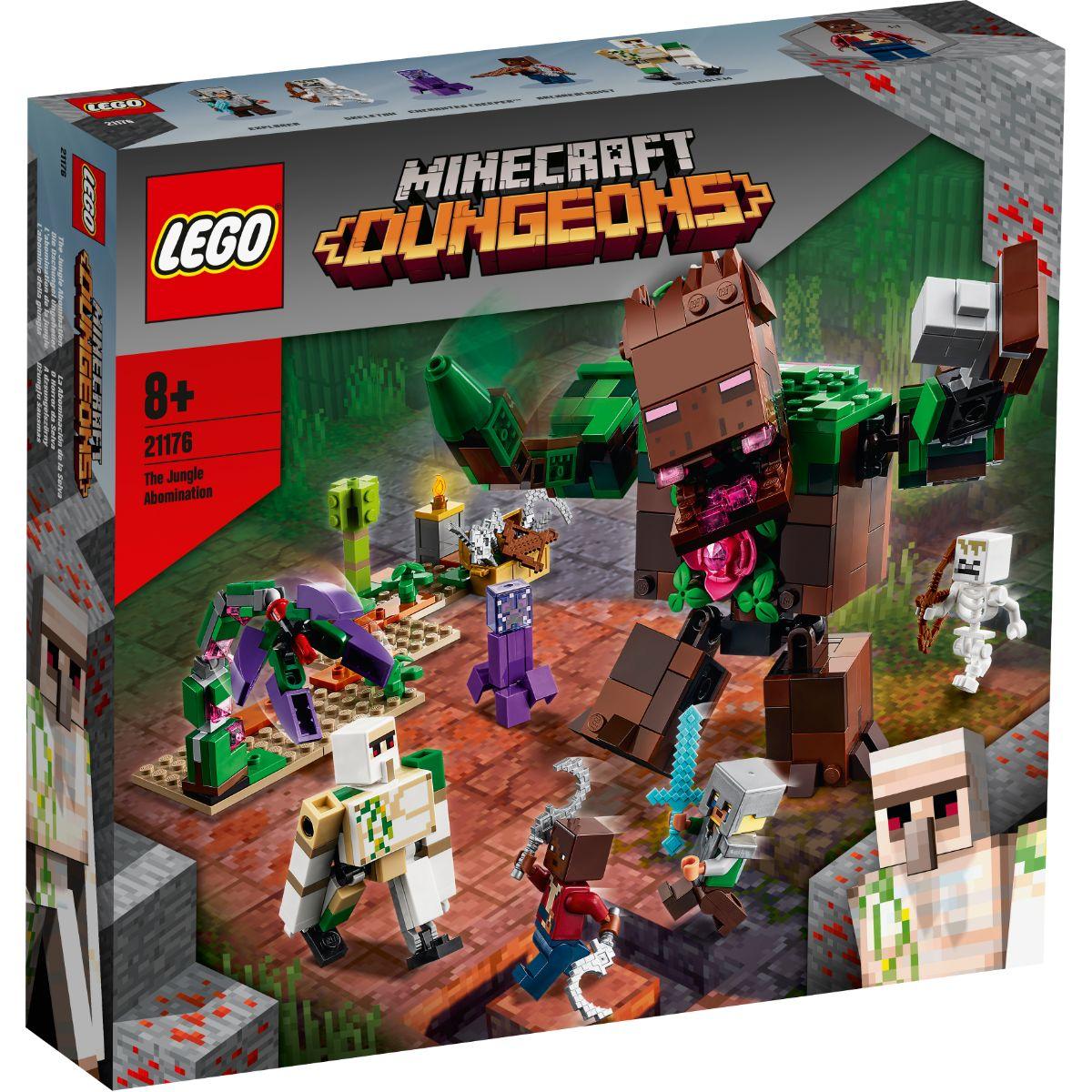 LEGO® Minecraft - Monstrul din jungla (21176)