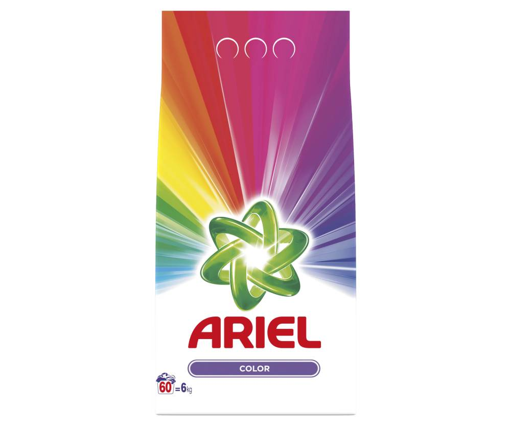 Detergent Ariel Automat Color, 6 Kg imagine 2021