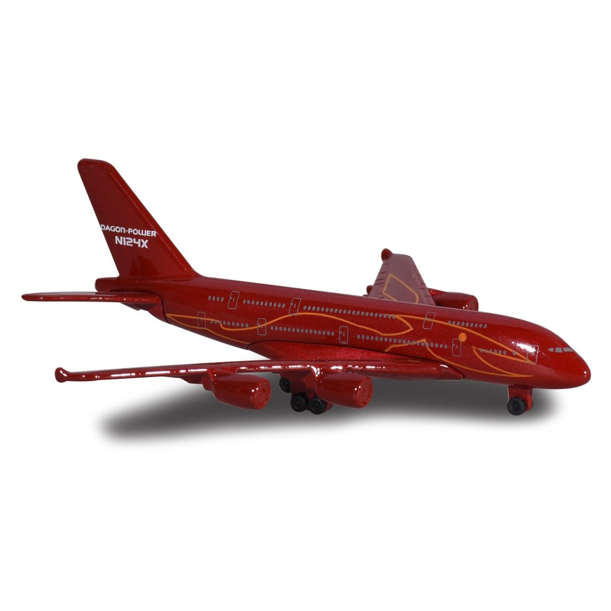 Avion Fantasy Airplane Majorette, Dragon Power, 13 cm