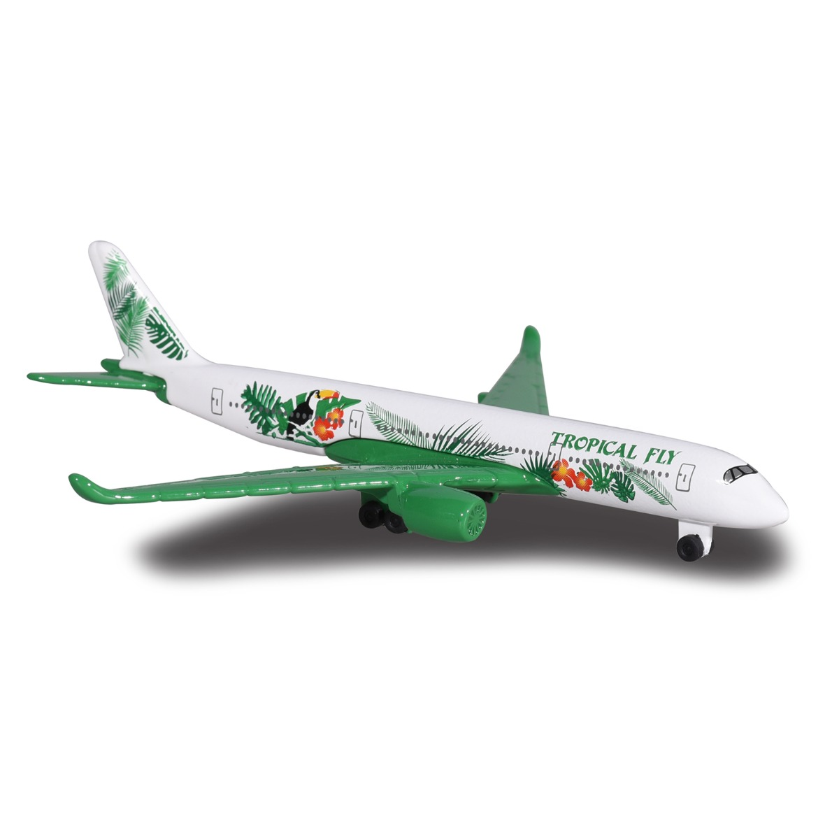 Avion Fantasy Airplane Majorette, Tropical Fly, 13 cm