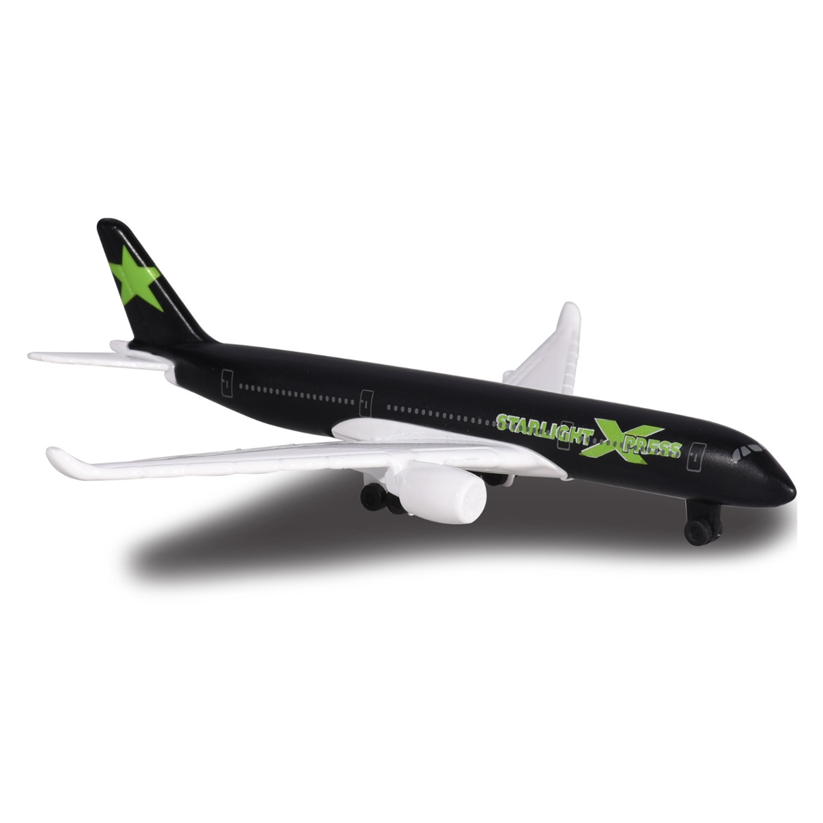 Avion Fantasy Airplane Majorette, Starlight, 13 cm