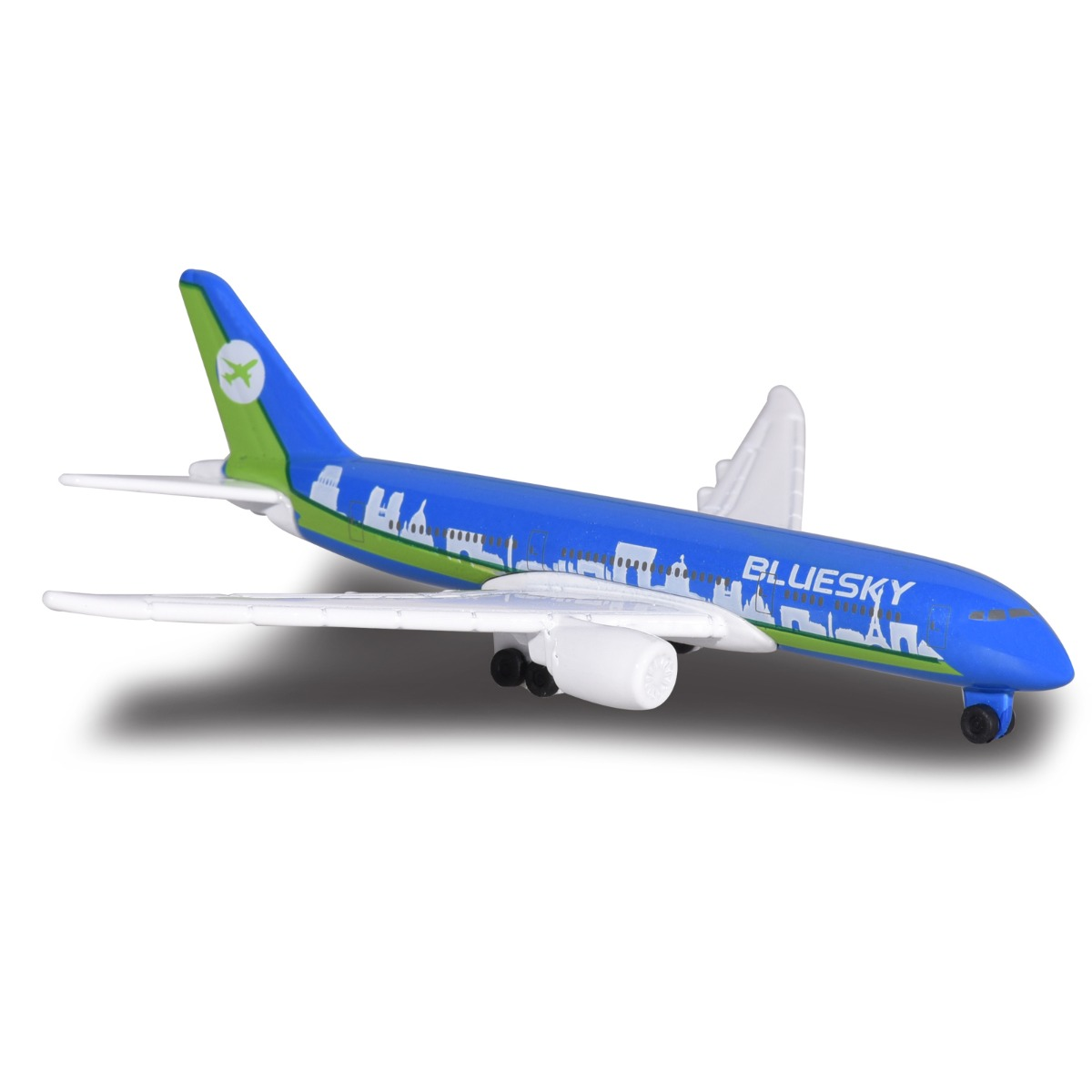 Avion Fantasy Airplane Majorette, Boeing, 13 cm