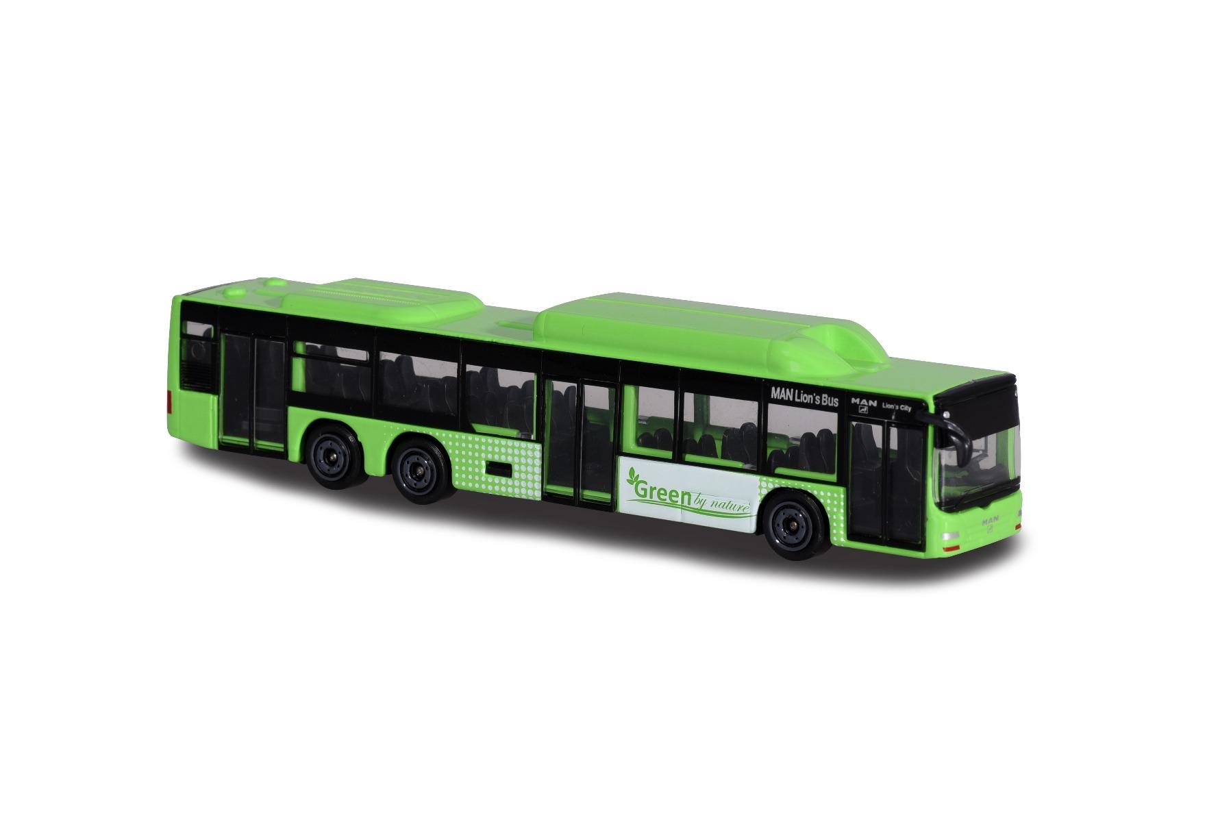 Autobuz de jucarie Majorette, Green By Nature