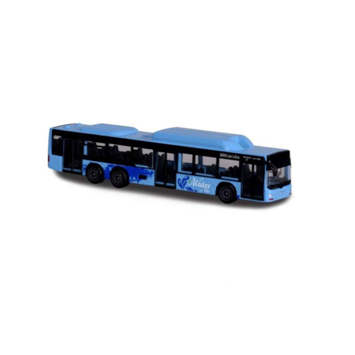 Autobuz de jucarie, Majorette, albastru