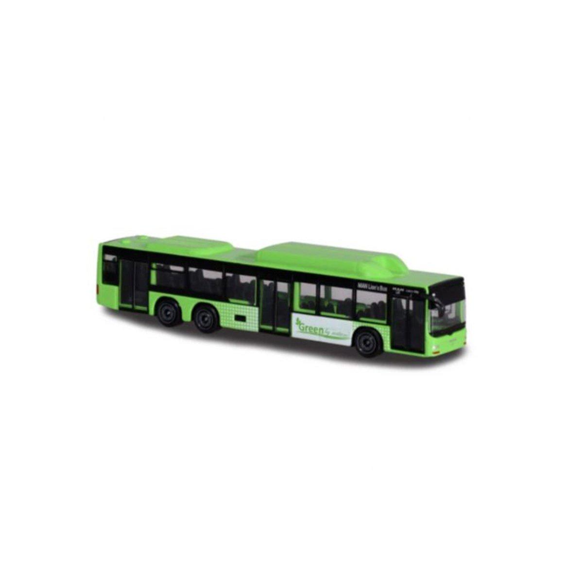Autobuz de jucarie, Majorette, verde